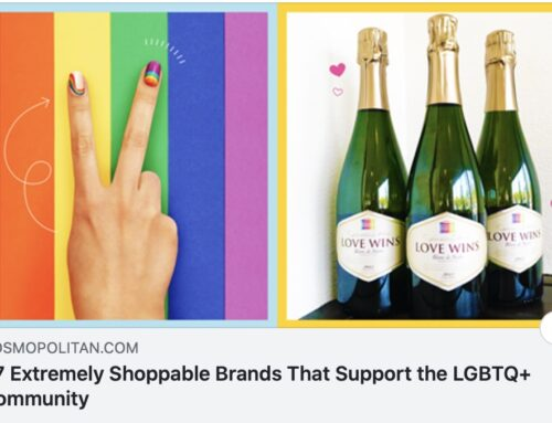 Equality Vines Featured on Cosmopolitan