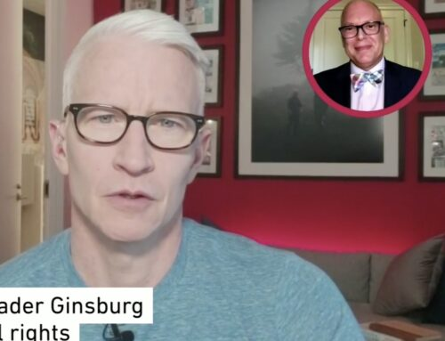 Jim Obergefell on Anderson Cooper Remembering Ruth Bader Ginsburg's Legacy